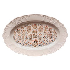 Persian Flowers Porcelain Tray Made in Italy