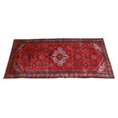 Persian Hamadan Mid-Century Hand-Woven Rug