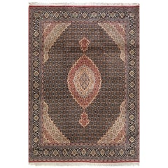 Persian Hand Knotted Fish Design Bijar Bidjar Rug