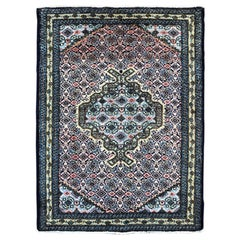 Persian Hand Knotted Medallion Ardabil Rug