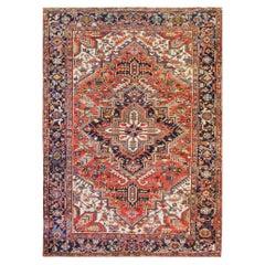Persian Heriz Carpet, Great Colors