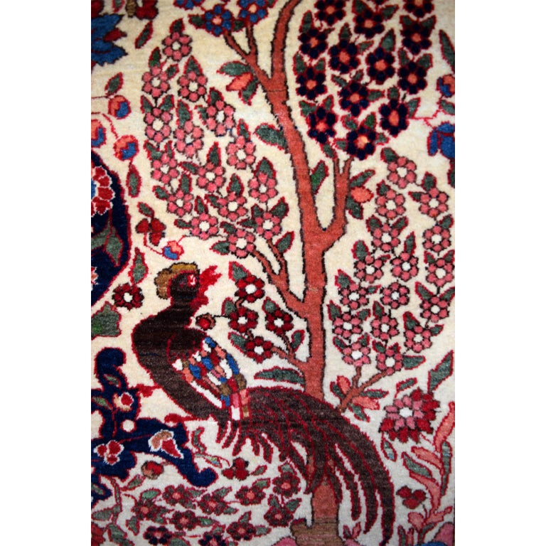 Persian Isfahan Tree of Life Carpet, circa 1890-1900 In Good Condition For Sale In New York, NY