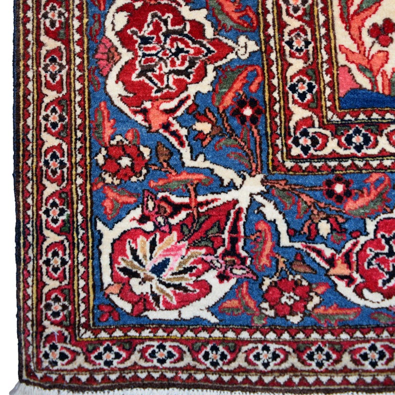 Persian Isfahan Tree of Life Carpet, circa 1890-1900 For Sale 1