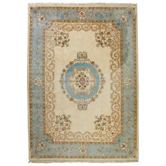 Vintage Indo Persian Kerman Rug