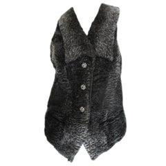 Persian Lamb Sleeveless Fur Vest