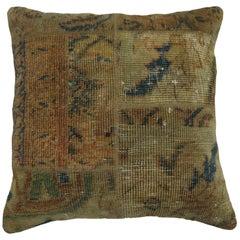 Persian Patchwork Rug Pillow