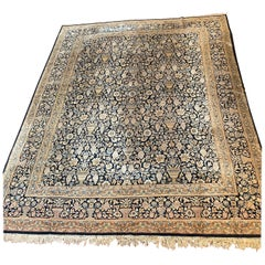 Persian Rug Knotted Wool, Handmade, 20 ° Century