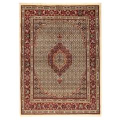 Persian Rug, Moud, 20th Century