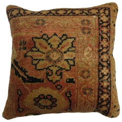 Persian Rug Pillow Featuring Pantone 2019 Color of Year