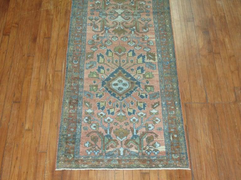 Hand-Woven Persian Runner For Sale