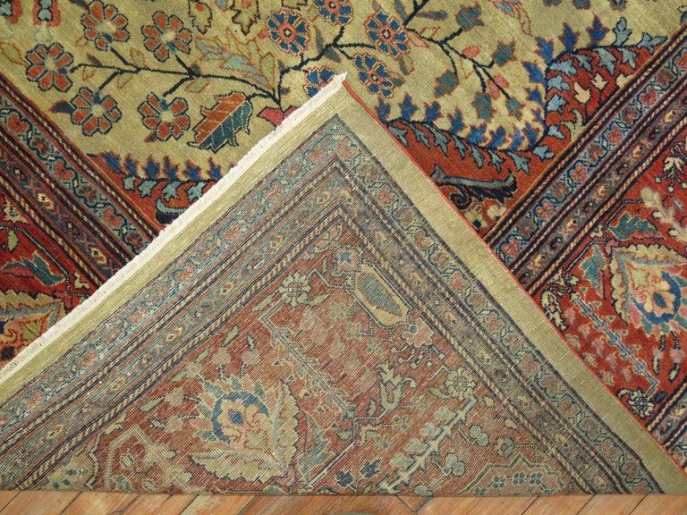 Persian Sarouk Fereghan Rug For Sale 4