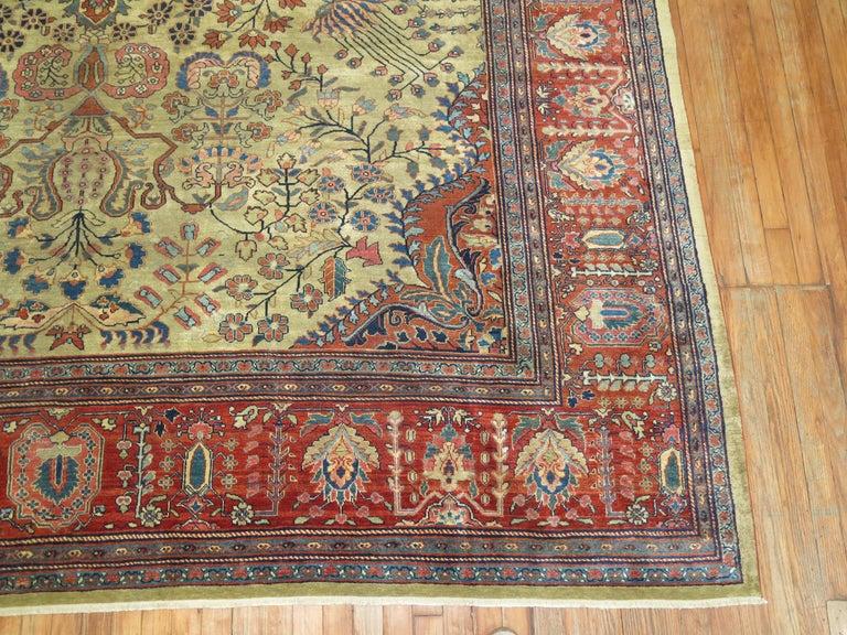 Persian Sarouk Fereghan Rug For Sale 5