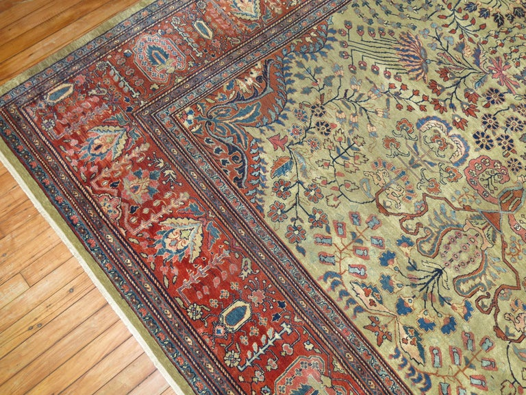 Persian Sarouk Fereghan Rug For Sale 6