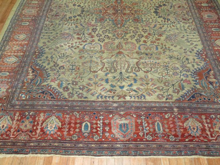 Persian Sarouk Fereghan Rug For Sale 7