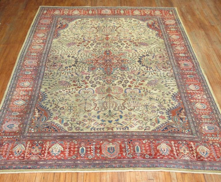 Persian Sarouk Fereghan Rug For Sale 8