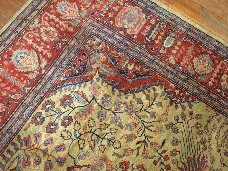 Persian Sarouk Fereghan Rug For Sale 1