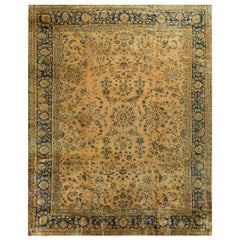 Persian Sarouk Rug Carpet, circa 1920