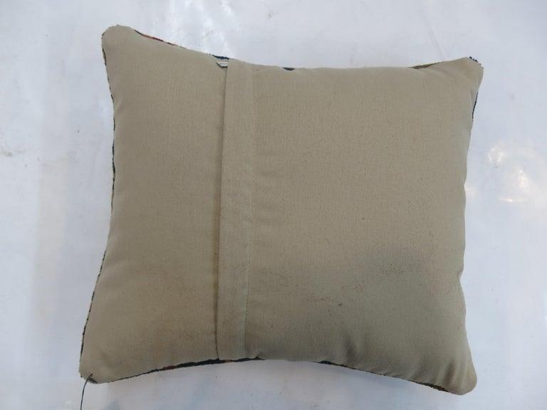 Contemporary Persian Serapi Rug Pillow For Sale