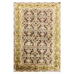 Antique Turkish Silk Rug