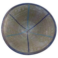 Persian Sultanabad Bowl with Minimalist Geometric Design, circa 10th Century