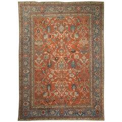 Persian Sultanabad Rug Carpet, circa 1880  10'3 X 13'10
