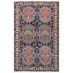 Persian Sumak Multi-Color Tribal Kilim