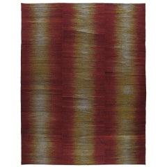 Persian Tribal Mazandaran Flat-Weave Rug