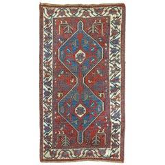 Persian Tribal Throw Rug