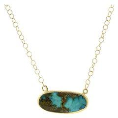 Persian Turquoise Gold Choker