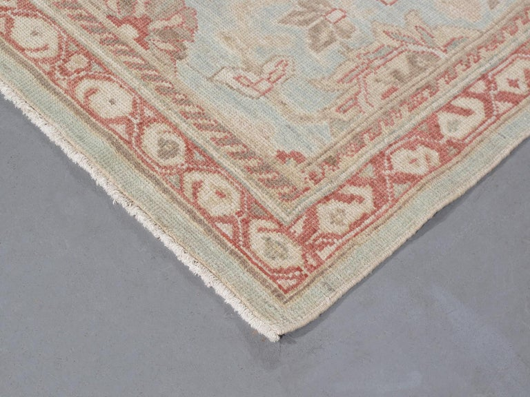 Persian Ziegler Sultanabad Rug Runner In New Condition For Sale In New York, NY