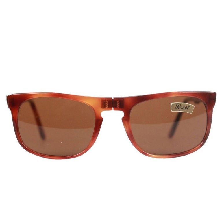 7730c293c5453 PERSOL Meflecto RATTI Vintage Folding 807 Legend Sunglasses 130mm NOS For  Sale