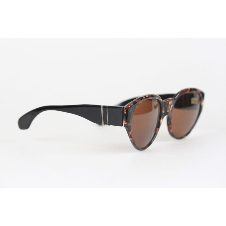 8a07b129e0 Brown Persol Meflecto Ratti Vintage Sunglasses Mod. 825 55mm New Old Stock  For Sale