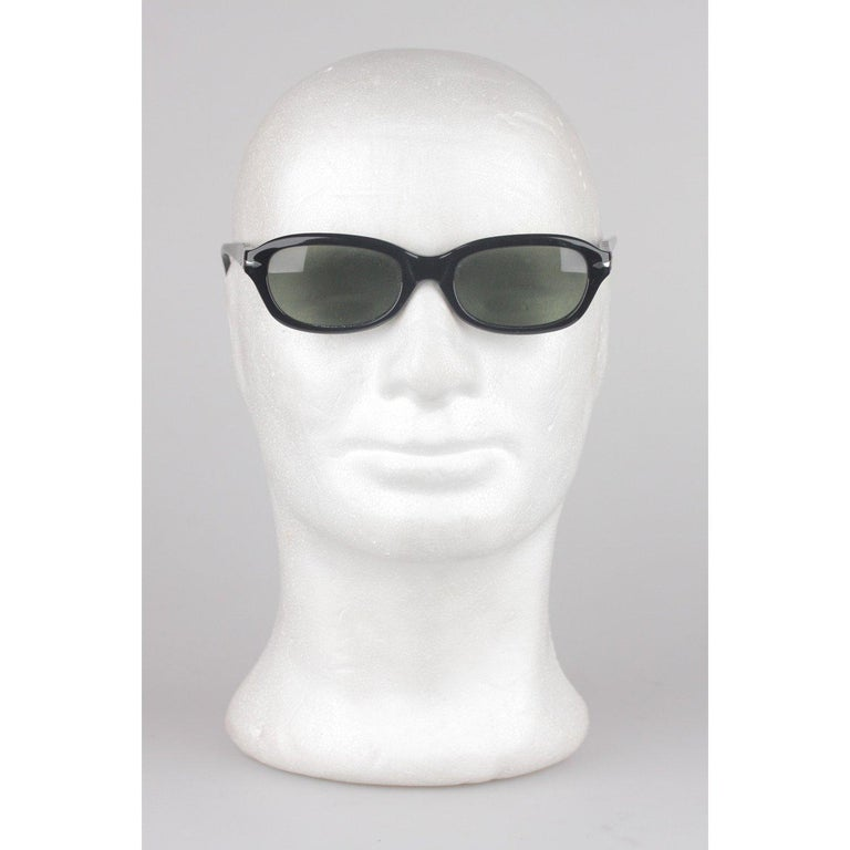 Persol Ratti Vintage Black Unisex Sunglasses PP503 54mm New Old Stock For Sale 1
