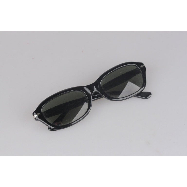 Persol Ratti Vintage Black Unisex Sunglasses PP503 54mm New Old Stock For Sale 2