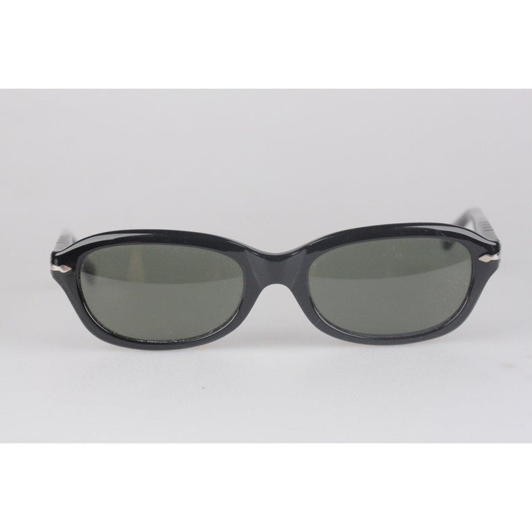 Persol Ratti Vintage Black Unisex Sunglasses PP503 54mm New Old Stock For Sale 3