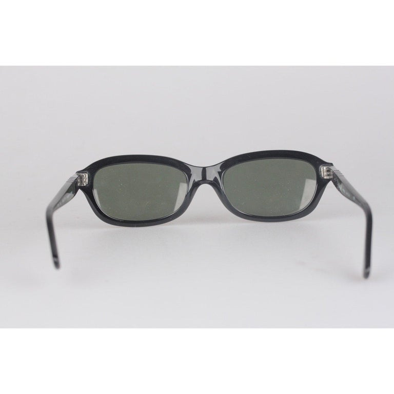 Persol Ratti Vintage Black Unisex Sunglasses PP503 54mm New Old Stock For Sale 4