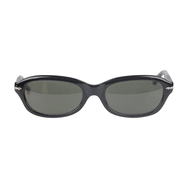 Persol Ratti Vintage Black Unisex Sunglasses PP503 54mm New Old Stock For Sale