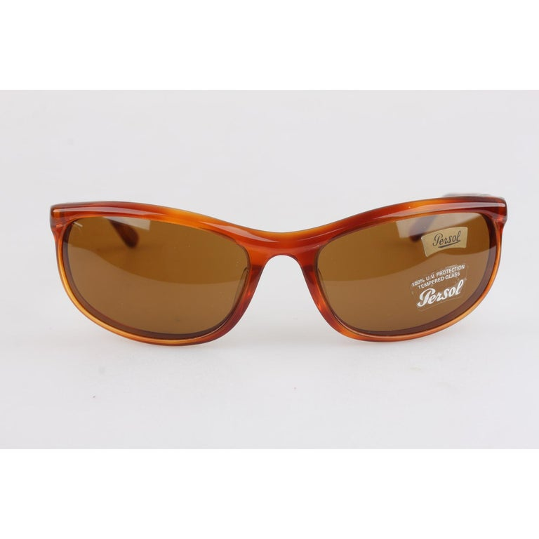 ef3b4db66bc72 Persol Ratti Vintage Brown Sunglasses 58230 Terminator New Old Stock For  Sale 6
