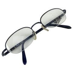 Persol Vintage Mint Eyeglasses 2065V Blue Half Rim 48/20 130 mm
