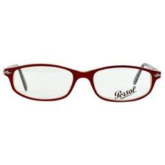 Persol Vintage Mint Unisex 2592-V 218 Red Eyeglasses 51/16 135 mm