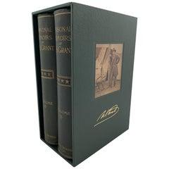 U.S. Grant Memoirs, First Edition, Original Boot Strap Binding, 1885-1886