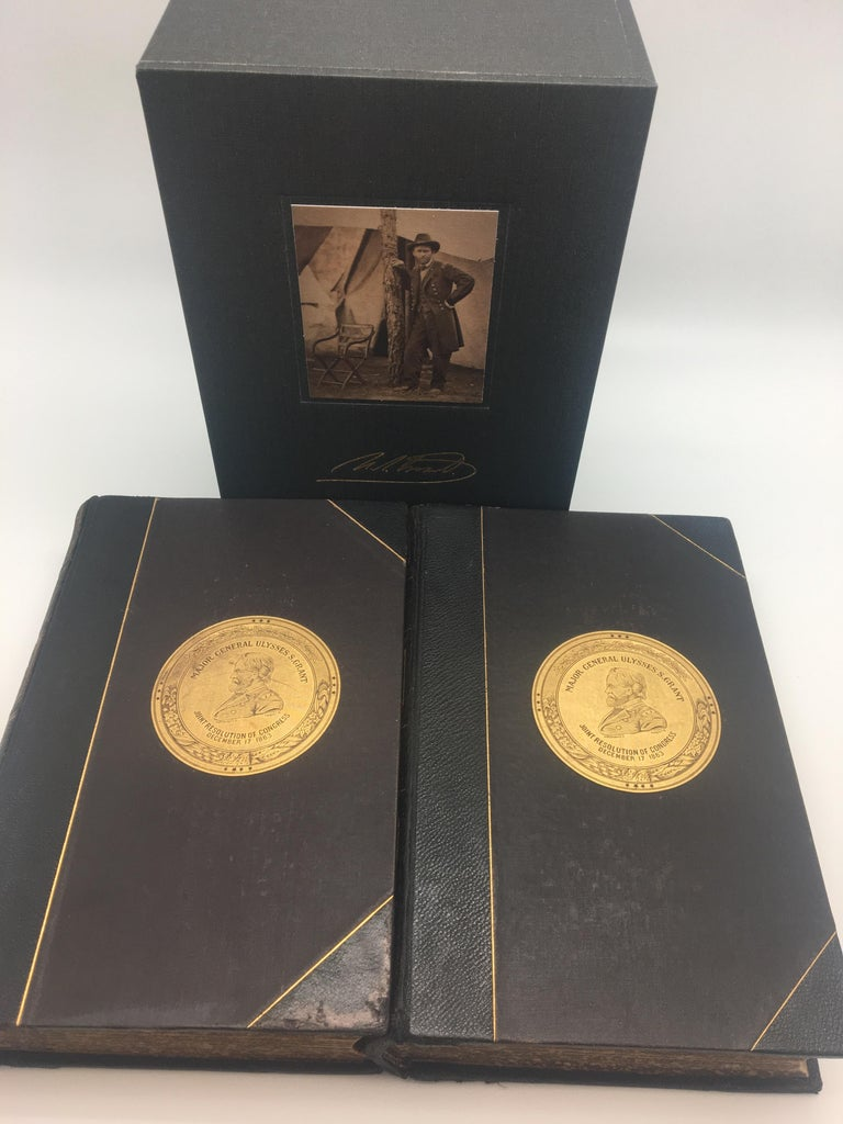 Late 19th Century Personal Memoirs of U.S. Grant, Special 2-Volume First Edition, 1885-1886 For Sale