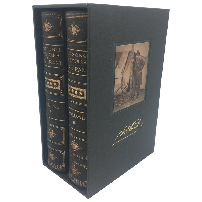 Personal Memoirs of U.S. Grant, Special 2-Volume First Edition, 1885-1886 For Sale
