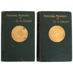 Personal Memoirs of U.S. Grant, Volumes I & II