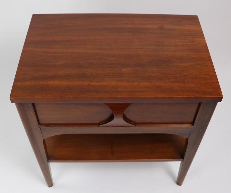 Perspecta Nightstand by Kent Coffey For Sale 4