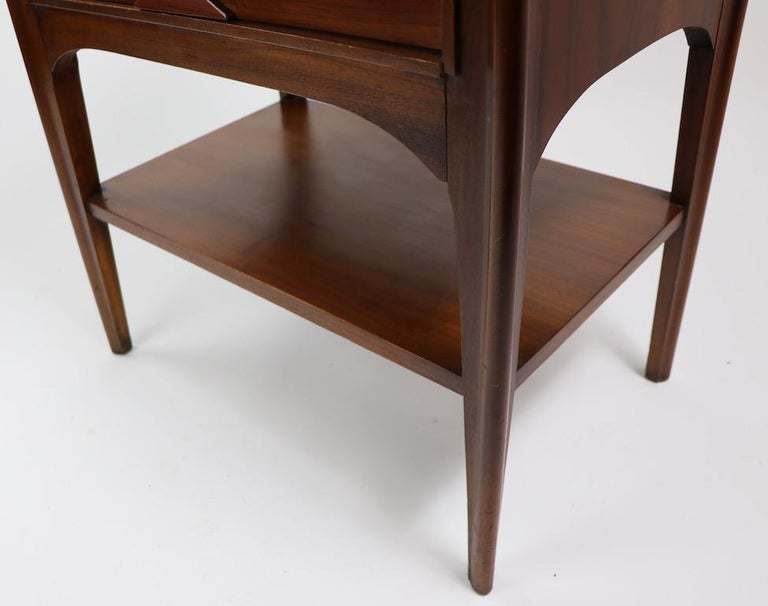 Perspecta Nightstand by Kent Coffey For Sale 7