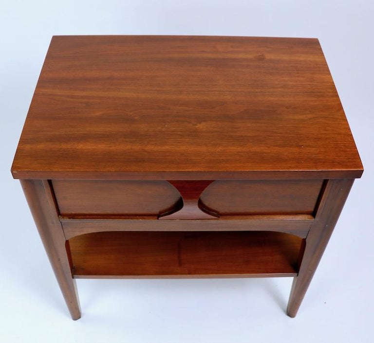 Perspecta Nightstand by Kent Coffey For Sale 9