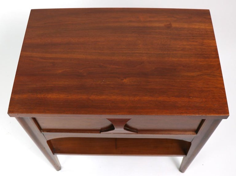 Perspecta Nightstand by Kent Coffey For Sale 10
