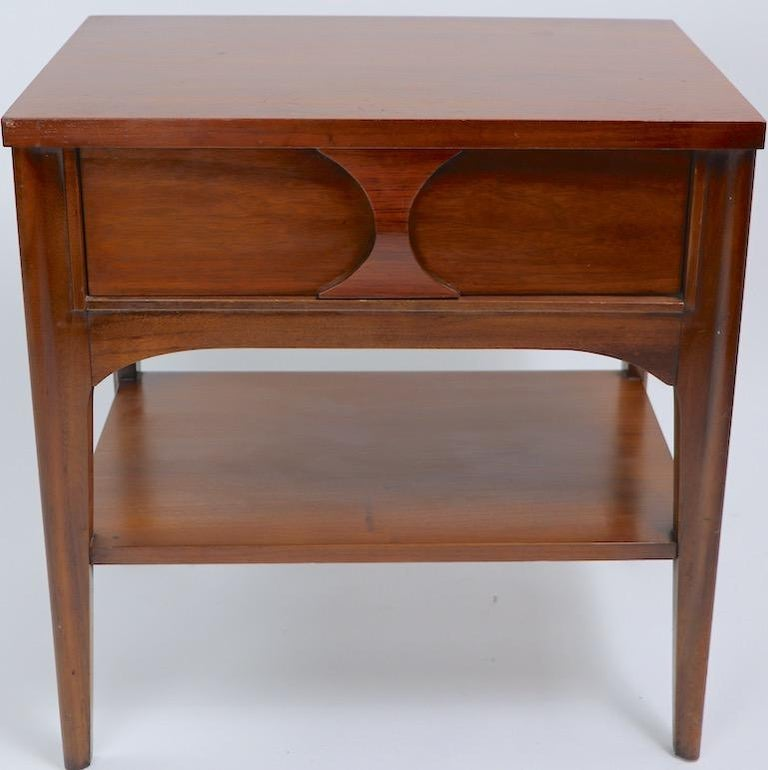 Perspecta Nightstand by Kent Coffey For Sale 11