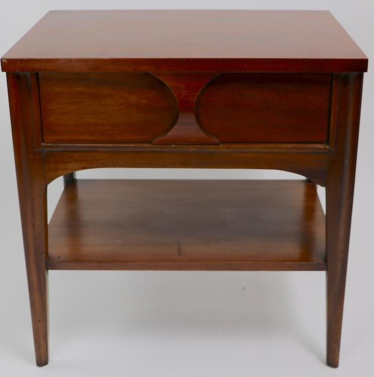 Perspecta Nightstand by Kent Coffey For Sale 12